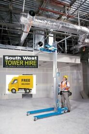 Genie SLA Material Lift & Hoist Hire in Bristol & Bath - South West Tower Hire