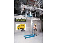 Genie SLA Material Lift & Hoist Hire in Bristol & Bath - South West Tower Hire