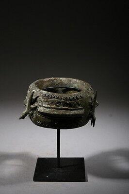 Art African Bracelet Baoulé Bronze 181