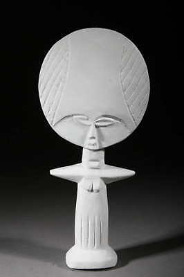 Art Contemporary African Doll Ashanti White