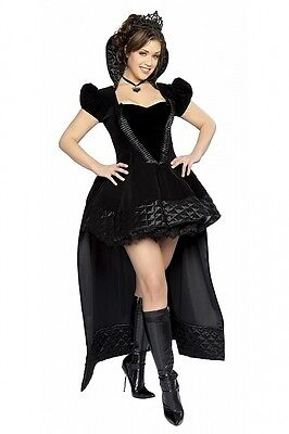 Sexy Halloween Hexen Kostüm Kleid XL Gr.42-44 düster Grusel Fasching Karneval - Gruselig Sexy Kostüm