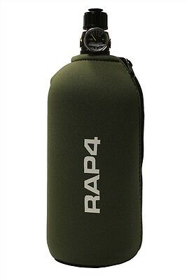 New RAP4 Paintball Tank Grip Bottle Cover - Olive - Fits 48ci 3k 4500 & 20oz CO2