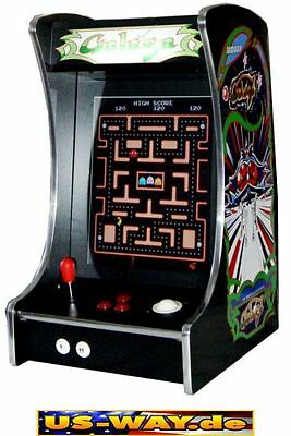 G-288 Galaga Classic Arcade TV Video Spielautomat Thekengerät,  412 Spiele