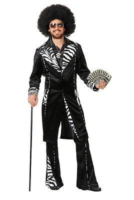 SLIP SLIDIN' MAC DADDY HALLOWEEN COSTUME ADULT LARGE 42-44 (Mac Halloween)