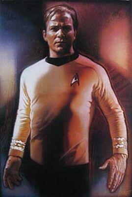 Captain Kirk (Single Sided) Original Movie Poster