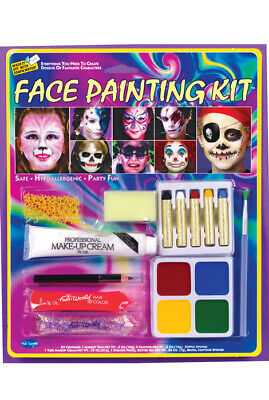 Brand New Face Painting Makeup Kit Halloween Costume Accessory