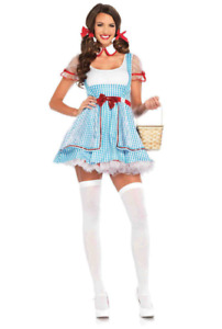 Women's Sexy Adult Dorothy Costume
