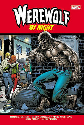 WEREWOLF BY NIGHT Omnibus HC Sealed *NM* $125 Cover #1-43 1st Moon Knight