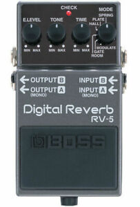 BOSS Digital Reverb RV-5 Effect Pedal
