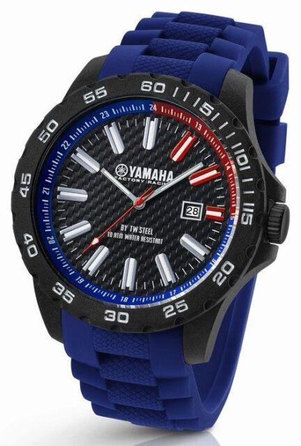 TW Steel Yamaha Factory Racing 45mm Blue Strap Watch Y2