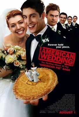 Americano Boda ( Doble Cara Regular) (2003) Original Cartel de Película