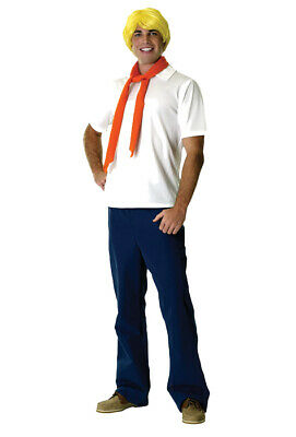 Scooby Doo Fred Costume (Brand New Scooby-Doo Fred Adult Halloween)