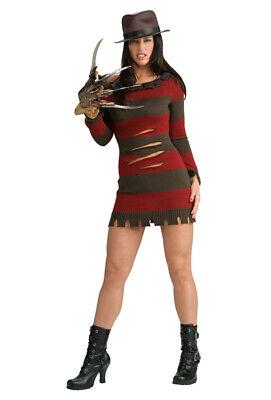 Brand New A Nightmare on Elm Street Secret Wishes Miss Krueger Adult Costume](Nightmare On Elm Street Costumes)