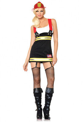 Sexy Backdraft Babe Firefighter Adult Halloween Costume