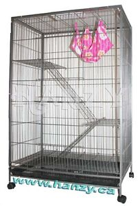 Grande cage pour furet, chat, chinchilla