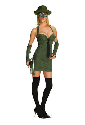 Brand New The Green Hornet Secret Wishes Green Hornet Adult Halloween Costume