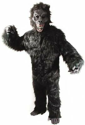 COMPLETE GORILLA Costume SCARRY MONKEY APE MASCOT SUIT professional adult new](Professional Gorilla Suit)