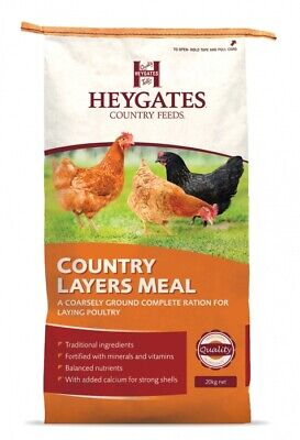 Heygates Country Feeds Poultry Layers Meal / Mash 20kg