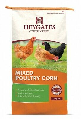 Heygates Country Feeds Mixed Poultry Corn 20kg