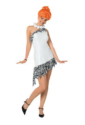 Brand New The Flintstones Sassy Wilma Flintstone Adult Halloween Costume (Flintstone Halloween Costume)