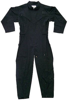 MENS ROTHCO BLACK FLIGHTSUIT  JUMPSUIT COVERALL  SIZES SMALL TO 6 XL AVAILABLE