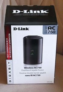 BRAND NEW - AC750 - dual band - Gigabit - USB - router