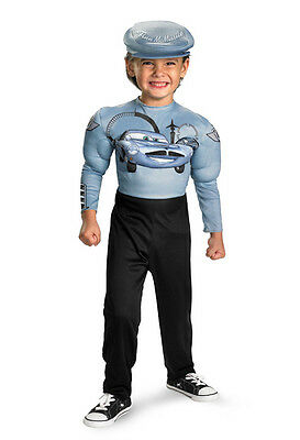 B0Y`S COSTUME  SIZE ( 7-8 )  DISNEY CARS FINN  McMISSILE-  MUSCLE ARMS  NWT](Muscle Arms Costume)