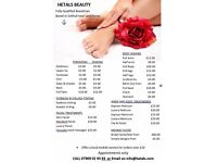 Fully Qualified Beautician, Based in Solihull near Land Rover