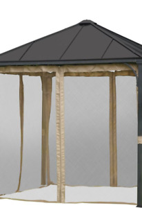 Netting (screen mesh) for gazebo
