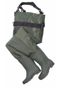 Nylon Chest Waders, Men's - size 7 - like new