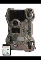 WGI vision 12 Game Camera with SD Card, Real Tree Xtra 8585 NEW