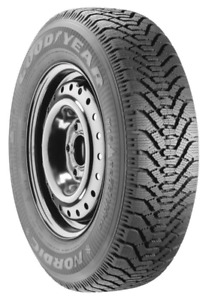 Four Good year Nordic winter tires with rims P195/65R15