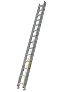 25 ft extension ladder. Only uses a few times. 100$