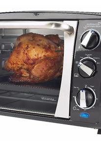 Bravetti Convection Toaster Oven with Rotisserie - 6 Slice
