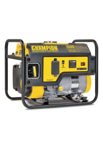 Champion 1200W Portable Gas Generator - $200