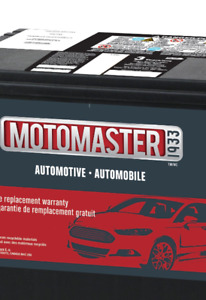Motomaster CTC 725 Amp battery with 3 year free replacement warr