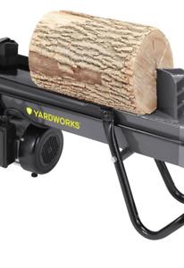 NEW Yardworks 5-Ton Duo Cut Electric Log Splitter