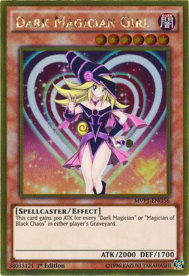 Dark Magician Girl - MVP1-ENG56 - Gold Rare - 1st Edition x1