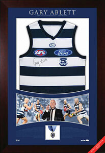 2009 Brownlow Gary Ablett Signed Framed