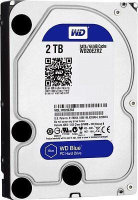 HARD DISK 3,5 2TB WD20EZRZ INTERNO WD BLUE PC DESKTOP