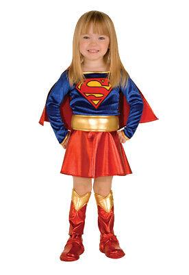 Supergirl Halloween Costume Toddler (Brand New Superman Supergirl Toddler Halloween)