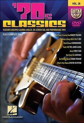 Hal Leonard 70s Classics Guitar Play-Along DVD Volume26 on Rummage