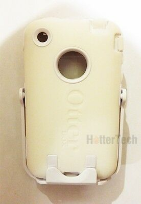 Iphone 3g Holster - New White Authentic Otterbox Defender Case Holster Belt Clip Apple iPhone 3G 3Gs