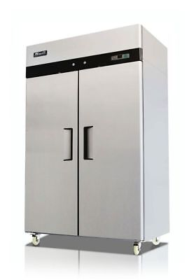 New Migali 2-door Reach-in Cooler 52 C-2r Free Shipping