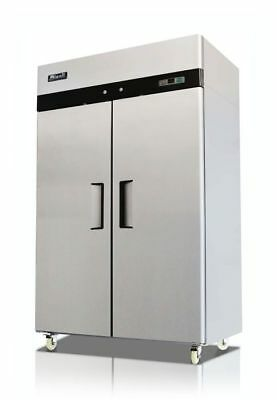 New Migali 2-door Reach-in Freezer 52 C-2f Free Shipping