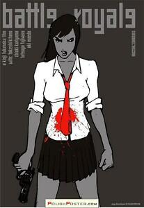 Battle Royale Polish poster