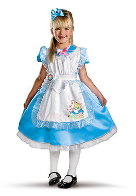 Disney Alice in Wonderland Deluxe Toddler Child Costume