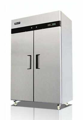Migali C-2f-hc Two-door Commercial Reach-in Freezer 49 Cu. Ft