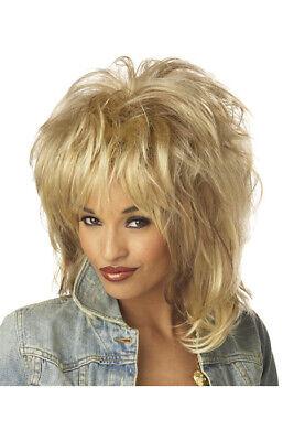 Tina Turner Halloween Costume (Brand New Rockin' Soul Tina Turner Diva Halloween Costume Wig)