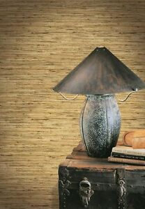 ALL-BEIGE-TAN-BROWN-AMBER-GREY-FAUX-VERTICAL-GRASSCLOTH-WALLPAPER-AW11040